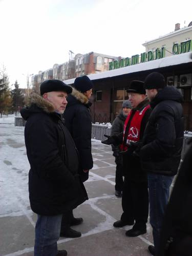Переговоры об объединении митингов 24 декабря между Кравцом и Костаревым