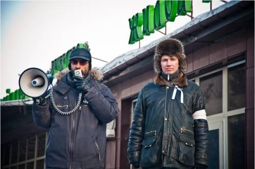 Соорганизаторы собрания 5 марта Виктор Корб и Михаил Яковлев